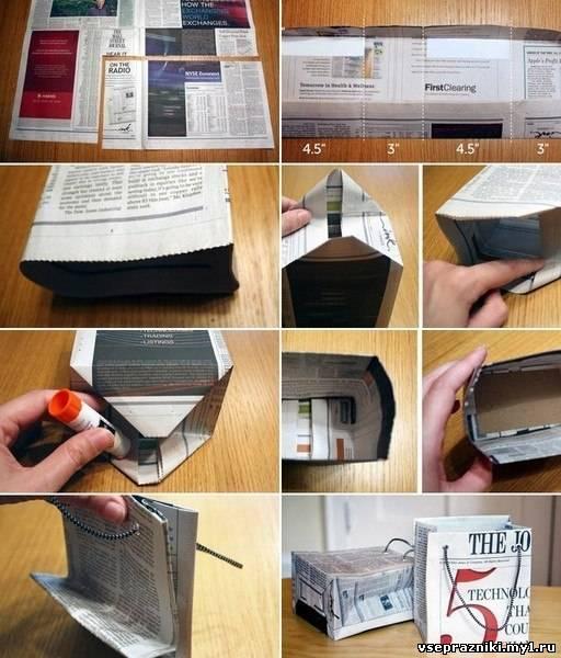 Как сделать газету своими руками в домашних условиях