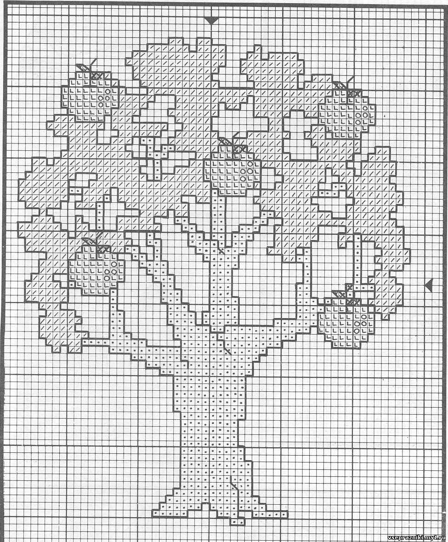 Денежное дерево из бисера - это красивая поделка, которую несложно. .  Схемы деревьев из бисера - цветущее дерево...